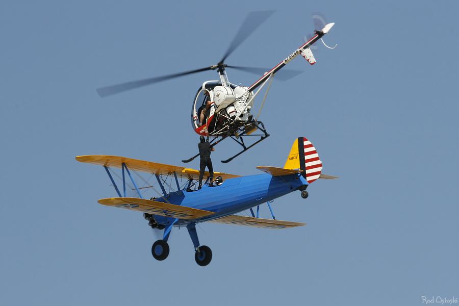 Plane to chopper