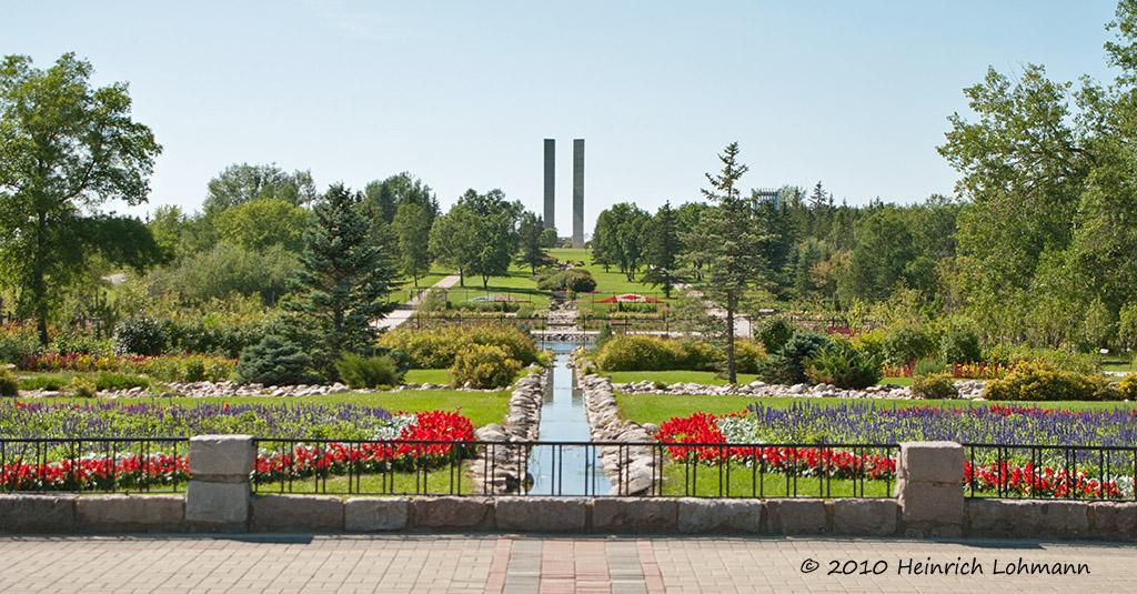 Landscape International Peace Garden