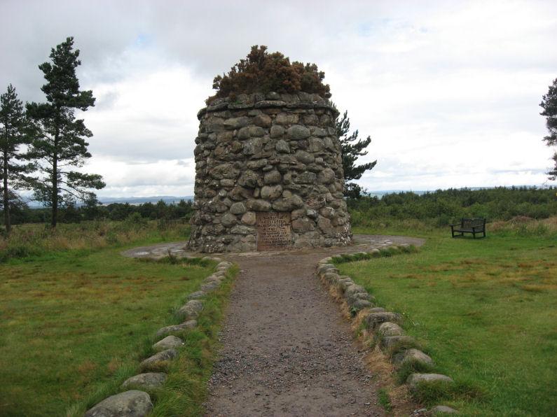 Memorial Cairn at Culloden Battlefield
