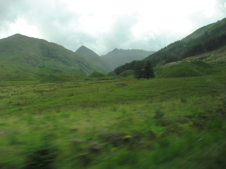 On the road to Skye