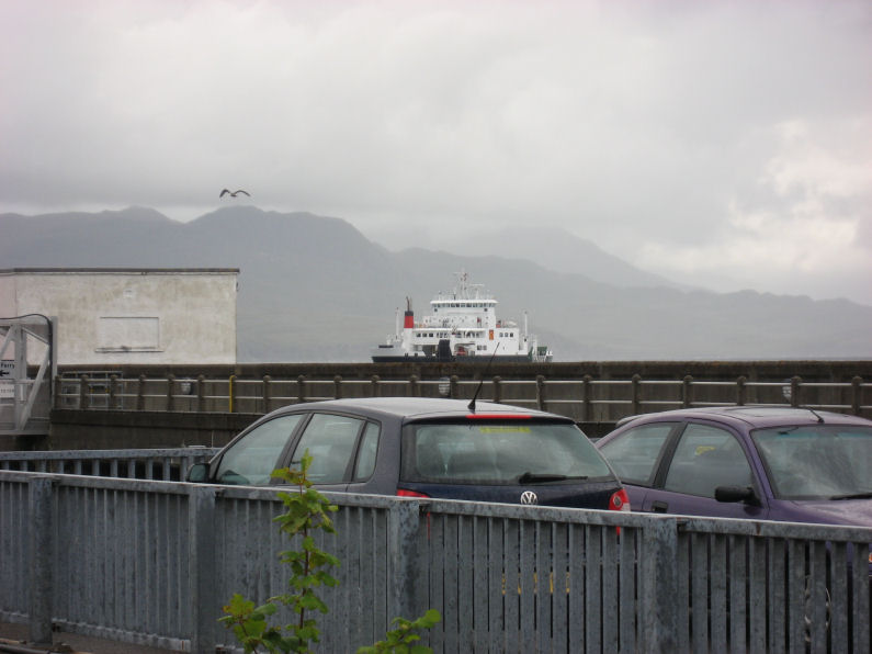 Ferry comes into view