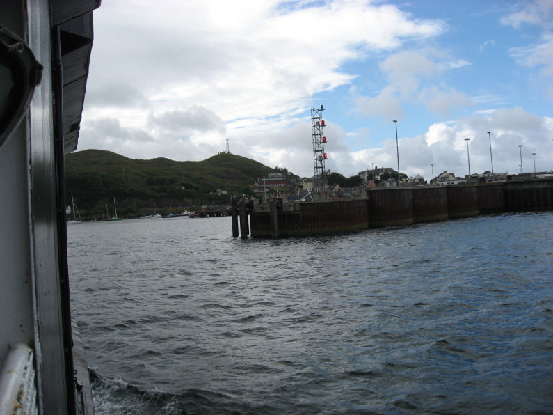 Coming in to Mallaig