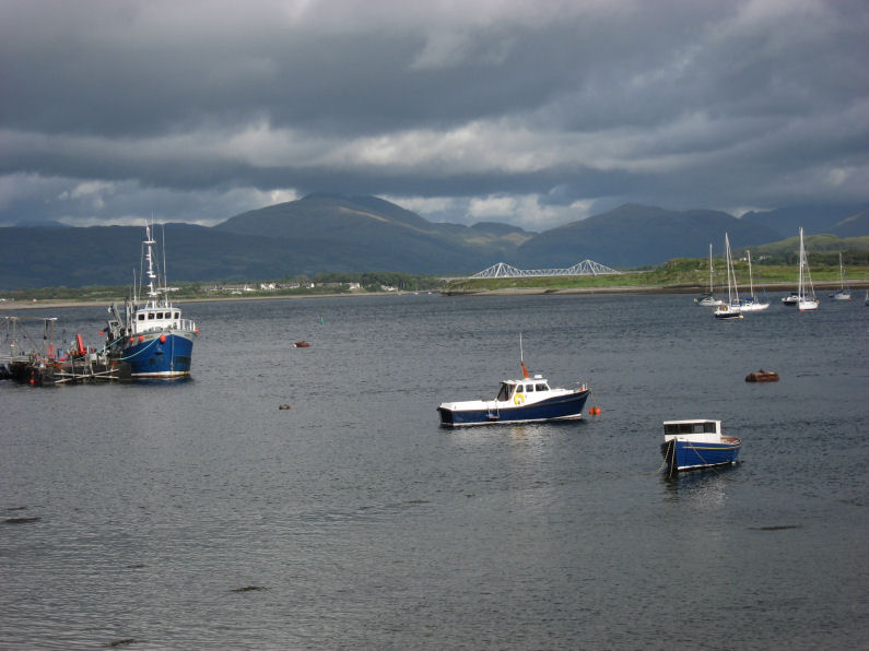 View from Dunstaffnage Castle grounds