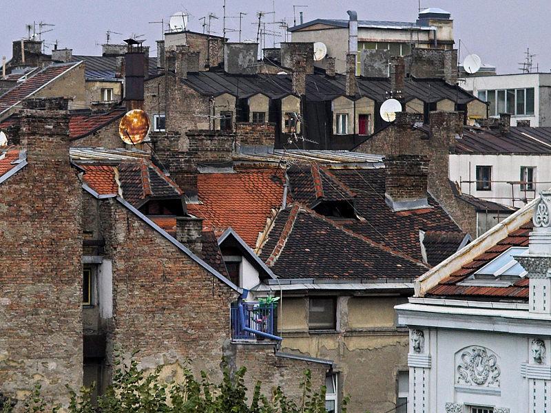 2006-09-28 Belgrade roofs