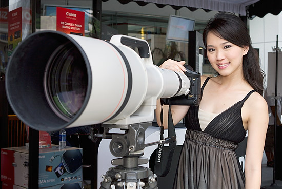 Canon 1200mm lens