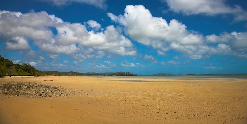 Cape York punsand bay panorama