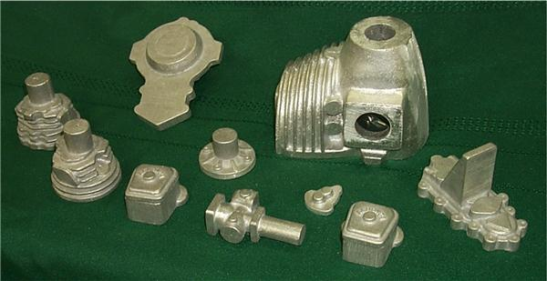 Aeronca model engine castings