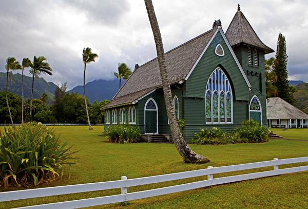Wai oli Huiia Church, Hanalei, Kauai, HI