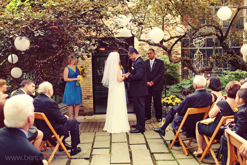 Chicago Outdoor Wedding: A New Leaf