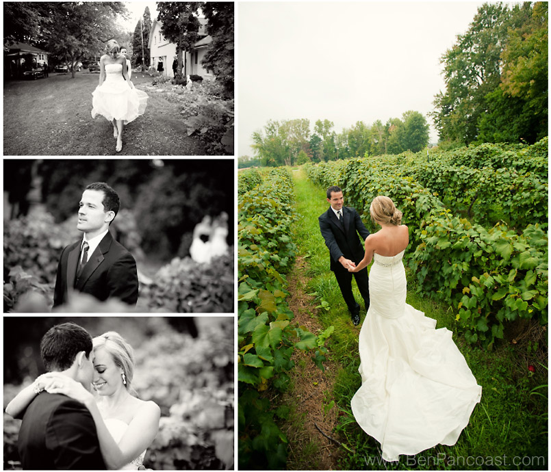 vineyard wedding, willow harbor vineyard, Michigan
