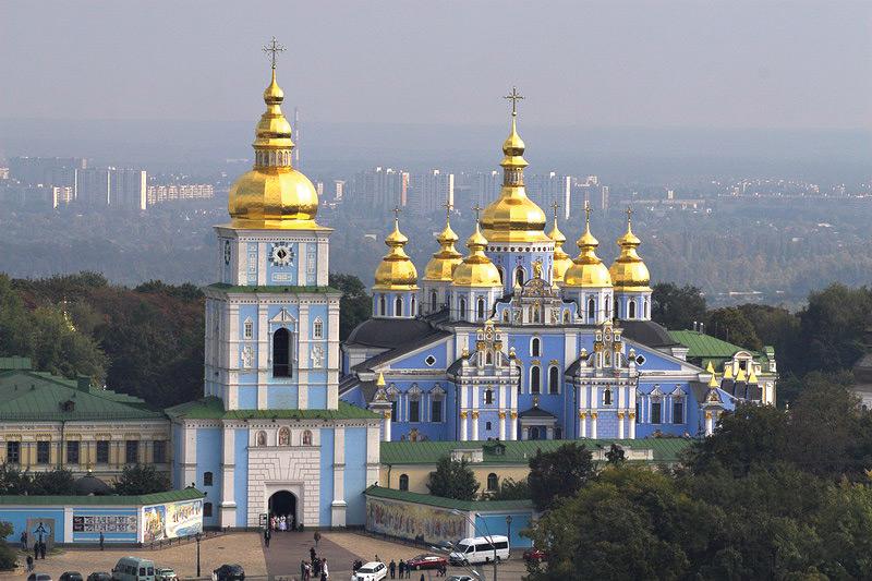 Mikhailovsky monastery. Kiev
