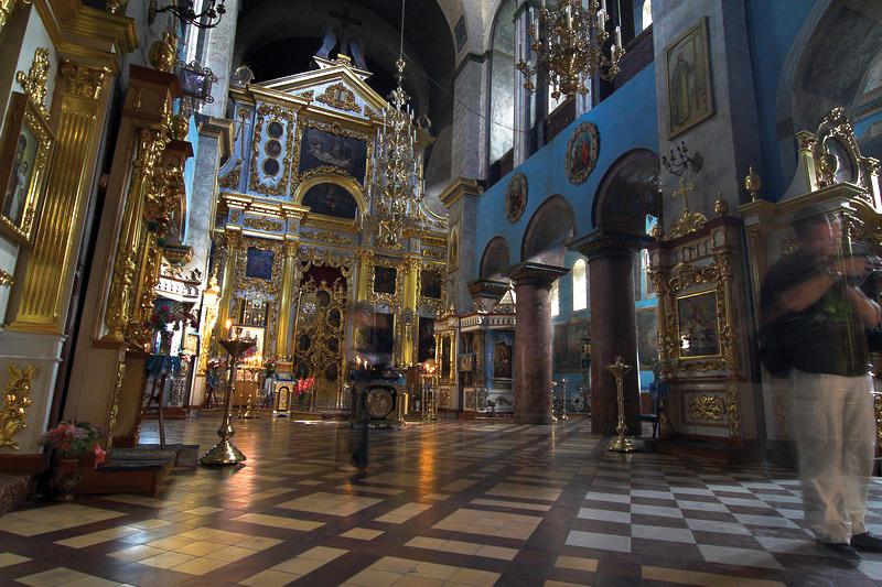 Spasky cathedral (Chernigov). Ukraine