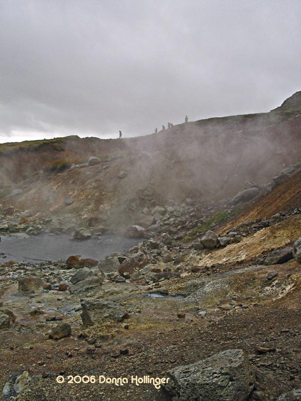 Holy smoke...Icelandic geysirs and vents
