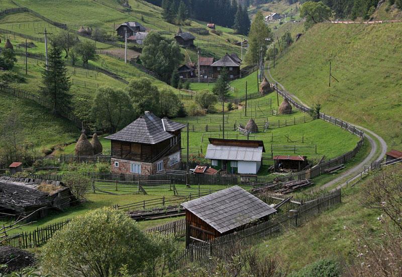 landscape in Maramures