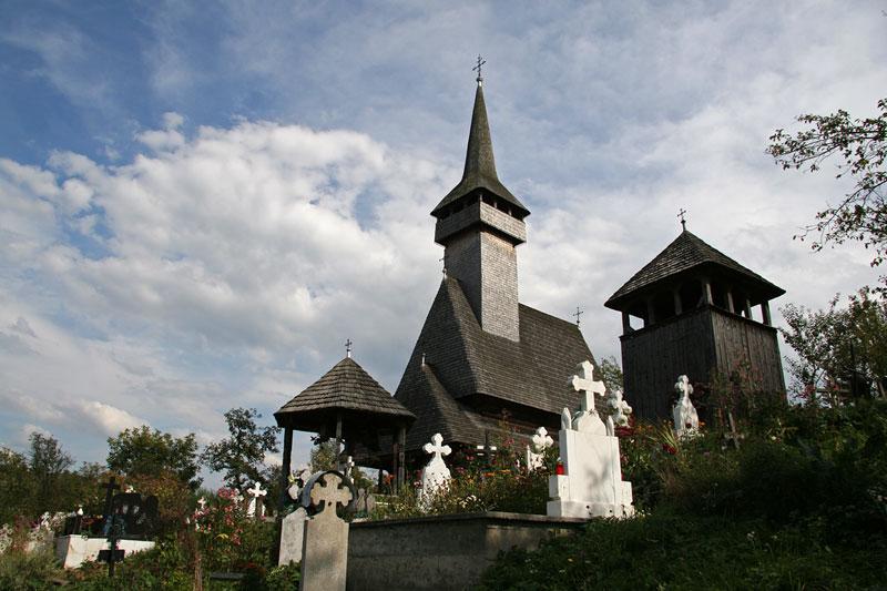 wooden church in Botiza