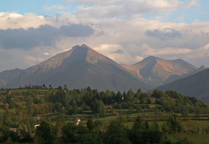 mountains in Maramures