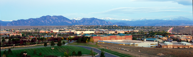 Denver in an Early Morning