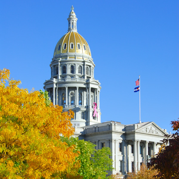 State Capitol Adorned with Fall Colours