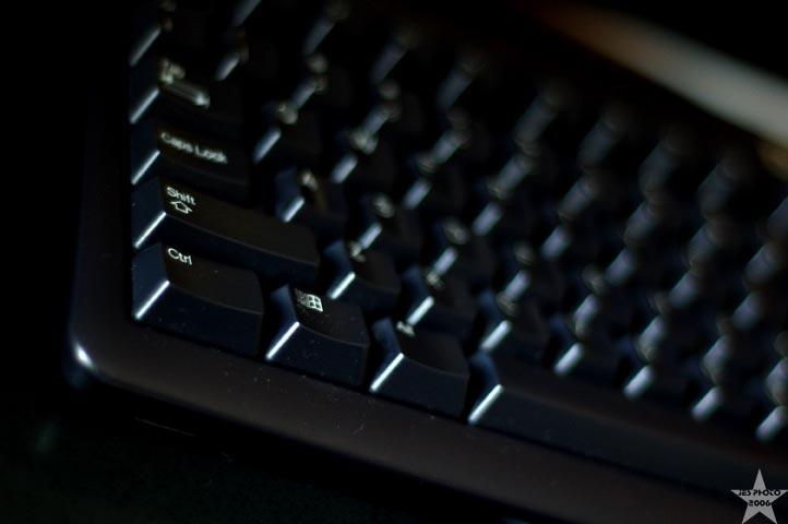 Keyboard at 50mm
