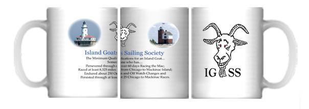 Island Goats Sailing Society  custom mug