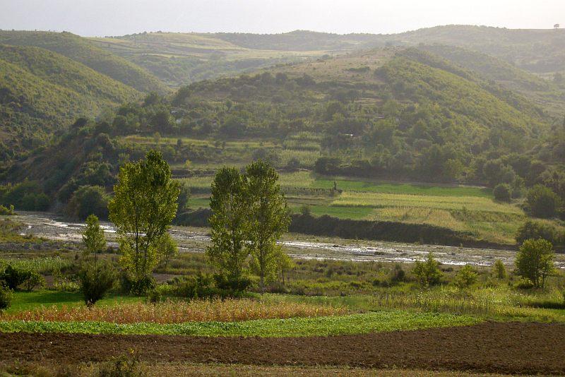Valley near Berati