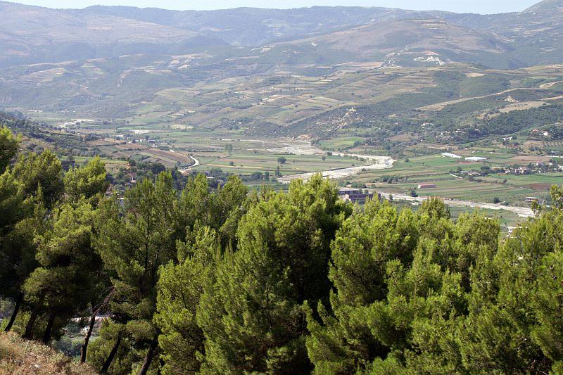 Berati - view from the citadel
