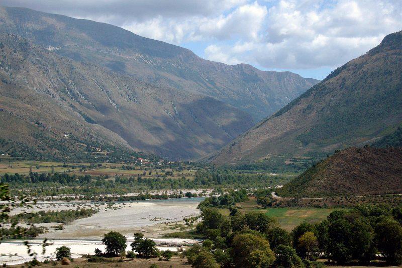 Drinos Valley near Tepelena