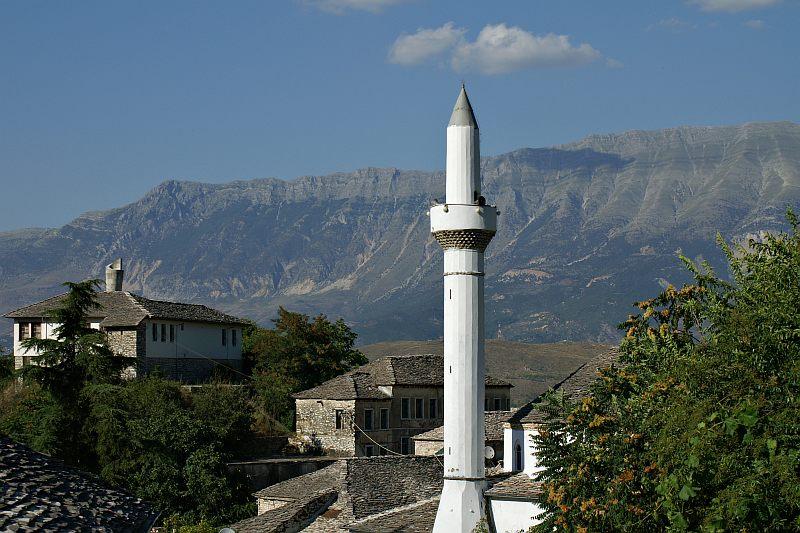 Minaret in Gjirokastra