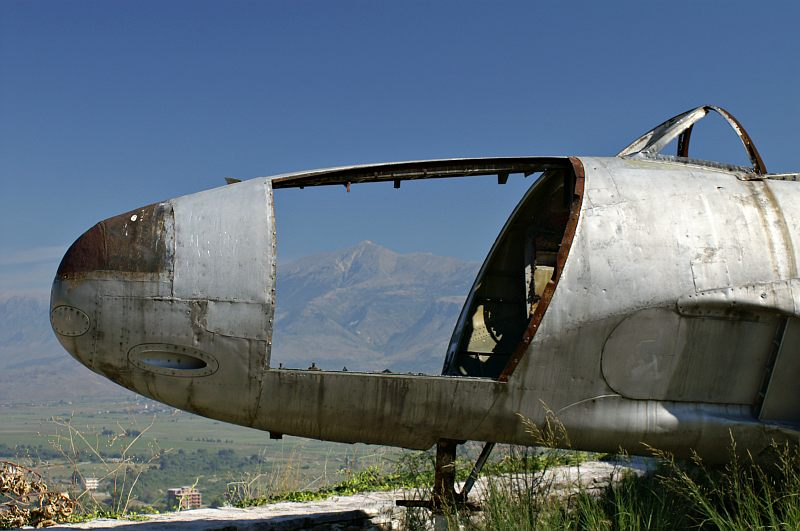 Gjirokastra Castle - Cold War relic