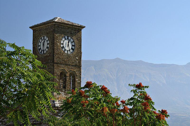 Gjirokastra Castle - Clock Tower