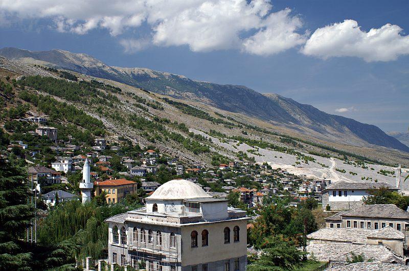 Gjirokastra and the Gjerë mountains