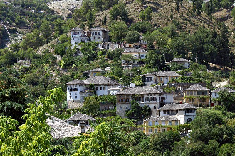 Gjirokastra - traditional houses
