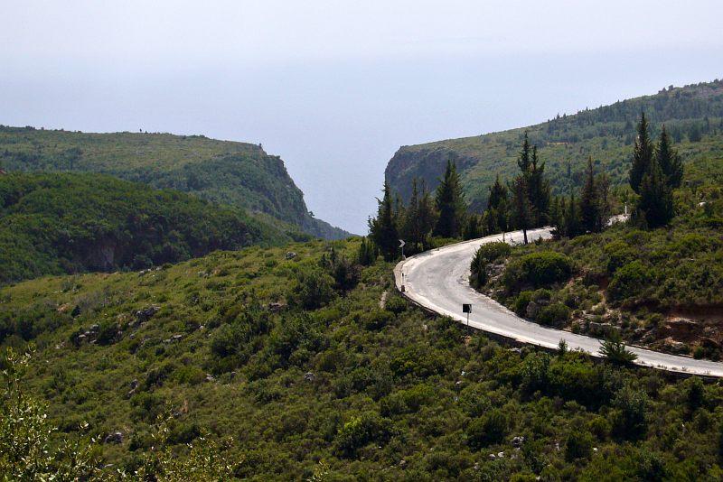 Near the Llogara Pass