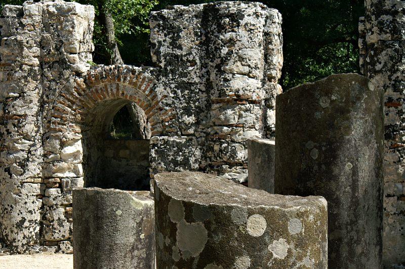 Butrint - Baptistery