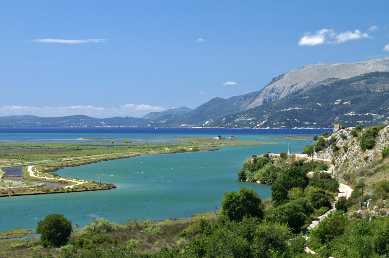 Butrint - view from the castle