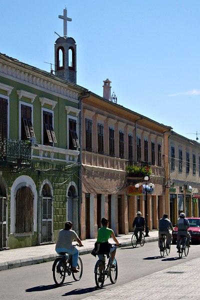 Shkodra, city of cyclists