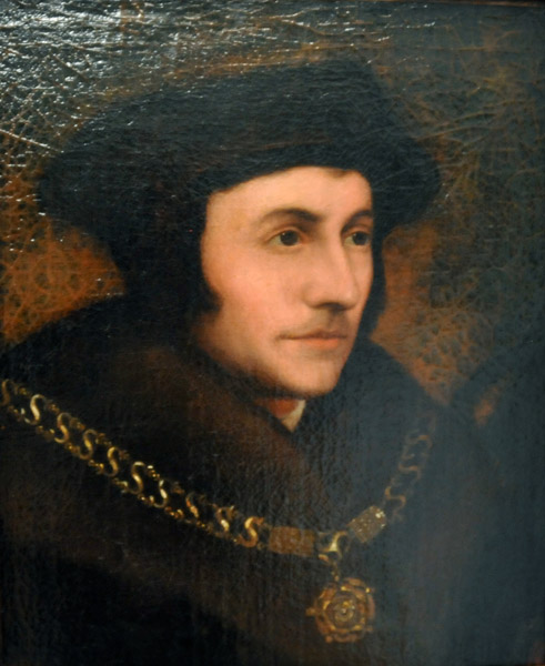 Hans Holbein the Younger, Portrait of Thomas Moore
