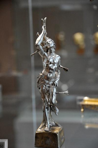 St. Sebastian, Italian silver, XVII Century