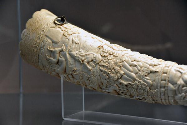 Ivory Horn, Germany, XVI Century