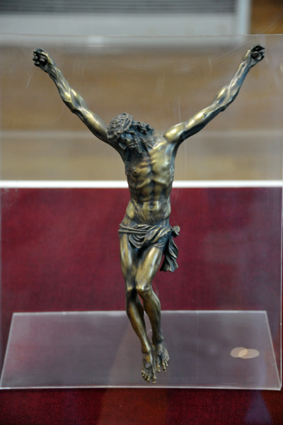 Bronze figure of the Crucifixion, Italy, XVI Century