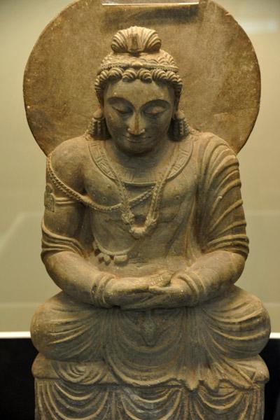 Bodhisatva Maitreya, Gandhara, Pakistan, 3rd C.