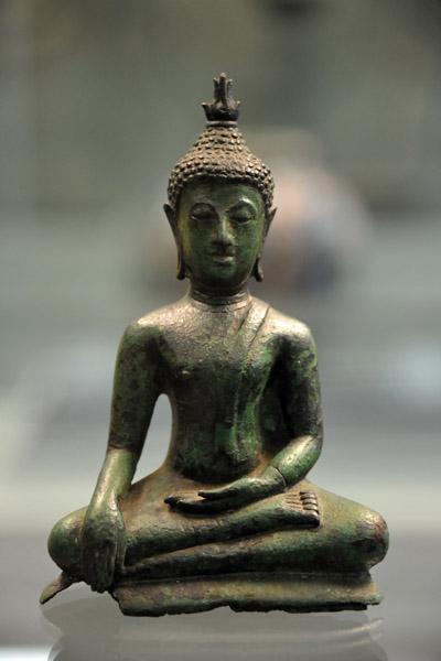 Bronze Buddha, Thailand, XV-XVI Century