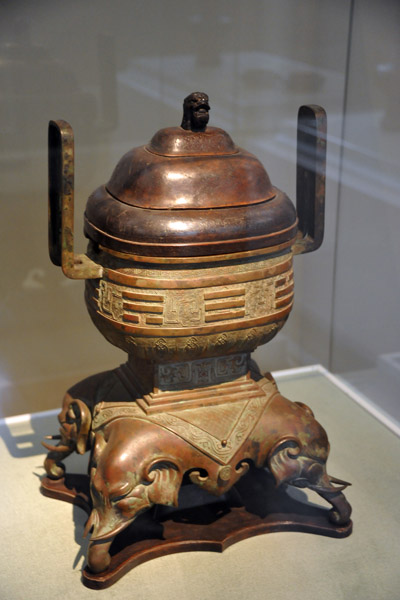 Incense burner, China, 18th C.