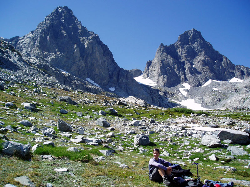 Mt Ritter (left) and Mt Banner (right)