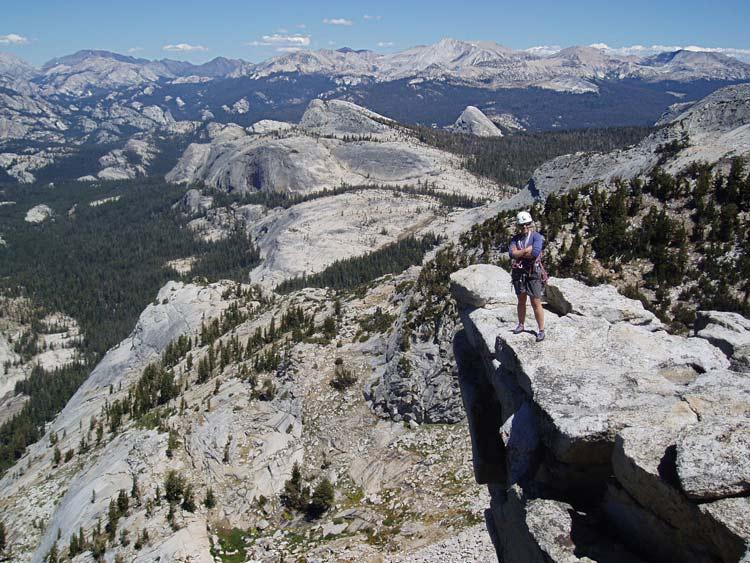 Tuolumne viewed from Tenaya Peak