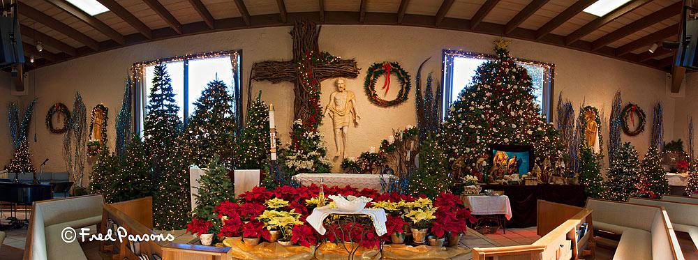 _MG_2879 Saint John Vianney Christmas Alter  2012
