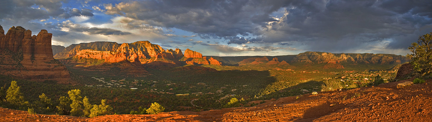 Sugarloaf Vista - (Second Place Winner - 2009 Sedona Arts Center Annual Exhibit)