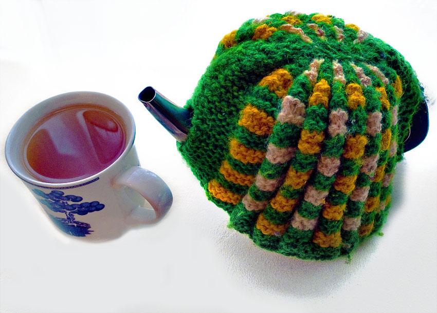 An Irish tea Cosy (Four Colour February - Green)
