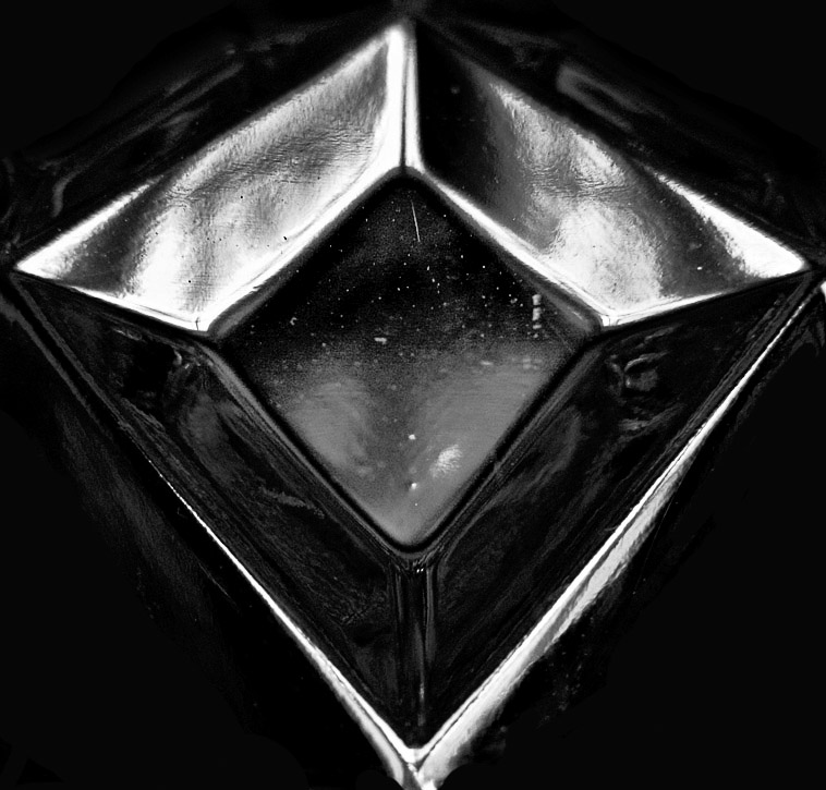 Galway crystal vase Macro