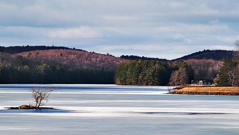 Winter at West Hartford Reservoir